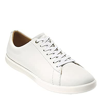 Cole Haan Women's Grand Crosscourt II Sneaker, Bright Leather/Optic White, 5 B US