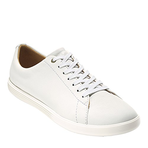 Cole Haan Women's Grand Crosscourt Sneaker 9 Bright White Leather-Optic White