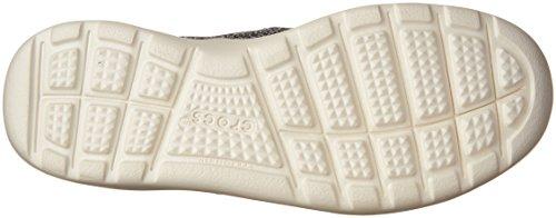 crocs Herren Kinsale Static Brogue, Grau Grau (Charcoal / Pearl / Weiß)
