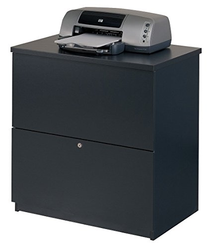 Two Drawer Lateral File Charcoal - Bestar Charcoal