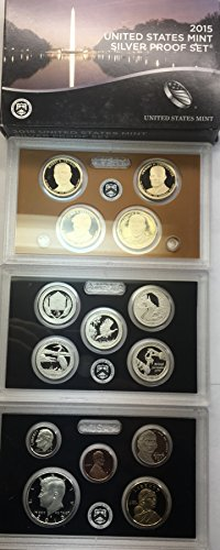 - 2015 S US Silver Proof Set (14 coins) Comes original Packaging from the US mint Proof