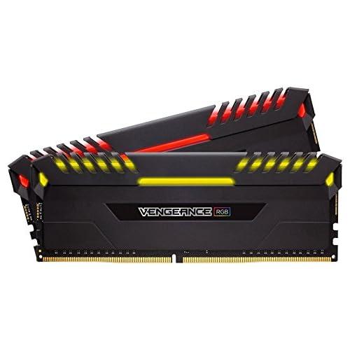 chollos oferta descuentos barato Corsair Vengeance RGB Kit de memoria Entusiasta de 16 GB 2 x 8 GB DDR4 4000 MHz C19 XMP 2 0 negro