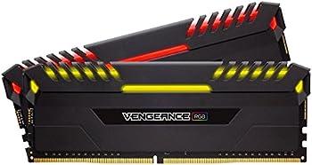 CORSAIR Vengeance RGB 16GB (2 x 8GB) PC4-24000 Desktop Memory