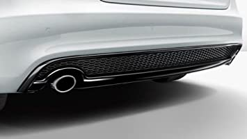 Original Audi A4 8 W B9 Silencioso Tapacubos Tapacubos de escape silencioso cromo