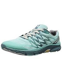 Merrell Womens Bare Access Ultra Trail Running Shoe,Aventurine/Teal,10 M US