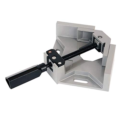 Chrome Series Quick Clamp - Barthylomo Corner Clamp 90° Right Angle Clamp Woodworking Vice Wood Metal Welding