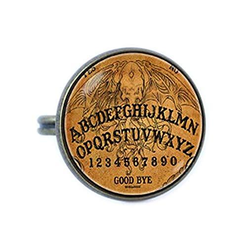 Ouija Board Ring Mystical Jewelry Witch Jewelry