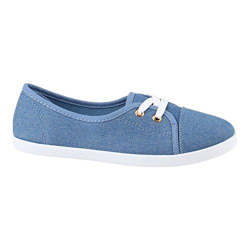 Sneaker Stiefelparadies Donna Blu Stiefelparadies Sneaker w1x8YOEFOq