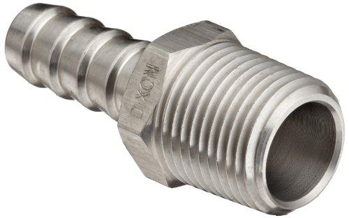 Dixon RN33 Stainless Steel 316 Hose Fitting, Insert, 3/8