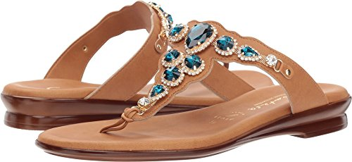ITALIAN Shoemakers Women's Kari Luggage 6 M US -