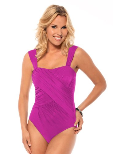 Miraclesuit Solid Romance Fuchsia 10