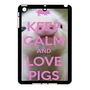 Cute pet pig baby pig Hard Plastic phone Case Cover For Ipad Mini Case ZDI004467