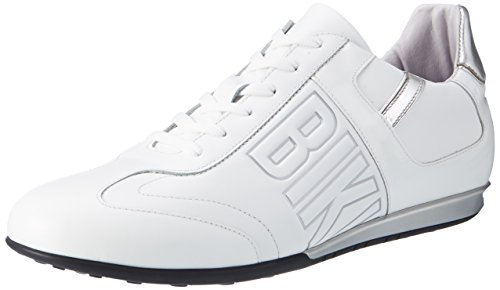 Bikkembergs Men's Springer 99 Shoes White (Leather/Patent White) discount new arrival p84b6ow