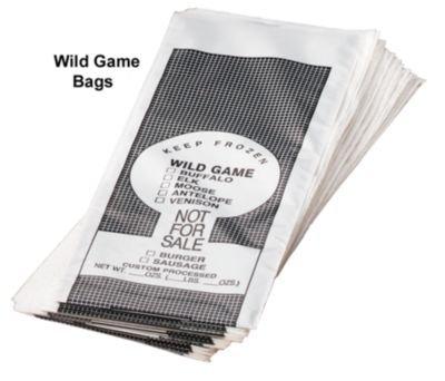 LEM 1 lb. Wild Game Bags - 25 count
