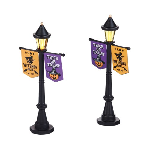 Department 56 Accessories for Villages Halloween Festival Lamps
