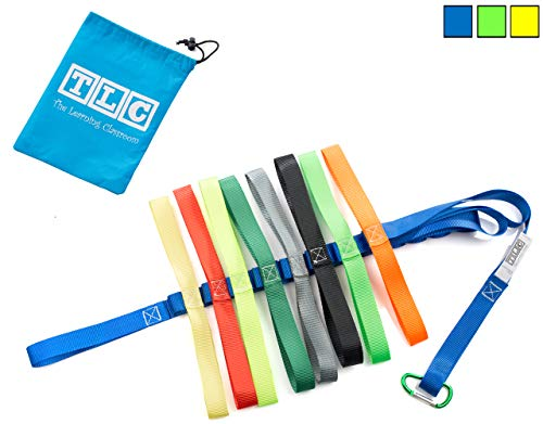 - The Learning Classroom Preschool Walking Rope, Carry Bag, 16-Colorful Handles, Blue/Green/Yellow, 1-Pack or 2-Pack, Daycare, Toddler