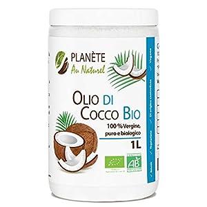 Olio di Cocco Bio - 1L - Extra Vergine 1000ml - Olio di Cocco Bio Nativo e non Raffinato 1L 4 spesavip