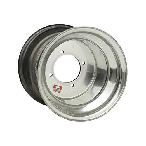 Douglas Wheel Tire 014-229 Red Label Wheel - 12x8 - 3+5 Offset - 4/156 - Black Aluminum, Bolt Pattern: 4/156, Rim Offset: 3+5, Wheel Rim Size: 12x8, Color: Black, Position: Front/Rear (Douglas Rims Label Red)