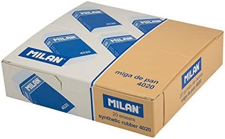 Caja de 20 Gomas miga de Pan MILAN Rectangular Envuelta CMM4020 ...