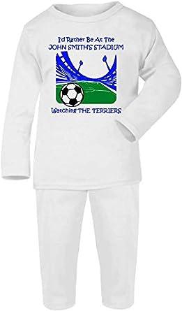 Hat-Trick Designs Huddersfield Town Football Baby Pyjamas set PJs Nightwear//Sleepwear-Id Rather Be-Unisex Gift