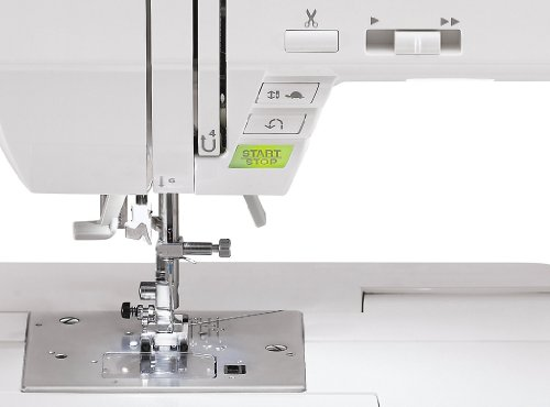 SINGER 9960 Quantum Stylist 600 Stitch Computerized Sewing system by means that of  Extension Table Bonus add-ons and Hard Cover your home Kitchen Features