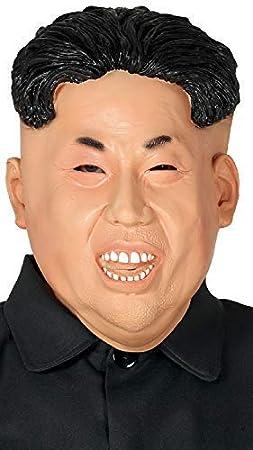 Fancy Me Smiley Kim Jong-Un - Máscara de Disfraz para Hombre ...