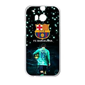 Happy Fc Barcelona Fashion Comstom Plastic case cover For HTC One M8