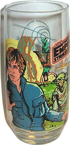 - Vintage 1980 Burger King Star Wars Empire Strikes Back Luke Skywalker Coca Cola Glass