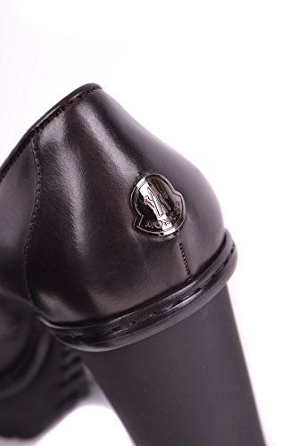 Brown Women's Leather Moncler MCBI212014O Heels aqnRwwS6v