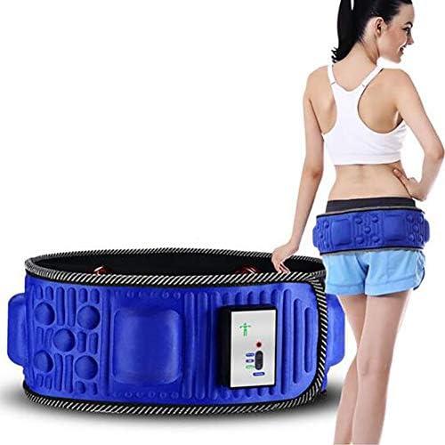 ZFAZF Bauchmassagegerät, Elektrisches Abnehmen Massage Gürtel mit 5 Motoren 20 Gesunde Magnete für Fitnessmassage Fettverbrennung Gewichtsverlust