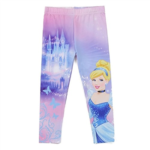 Disney Princess Tights (Disney Princess Toddler Girls Cinderella Leggings (2t))