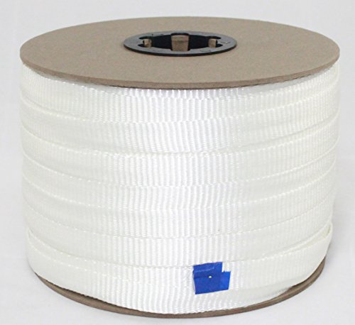 Cajun Mule Line - 3/4 Inch - 2,500 lb. - Pull Tape - Polyester Pulling Tape - Made in USA ()