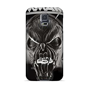 Shockproof Cell-phone Hard Covers For Samsung Galaxy S5 With Provide Private Custom HD Foo Fighters Skin CharlesPoirier