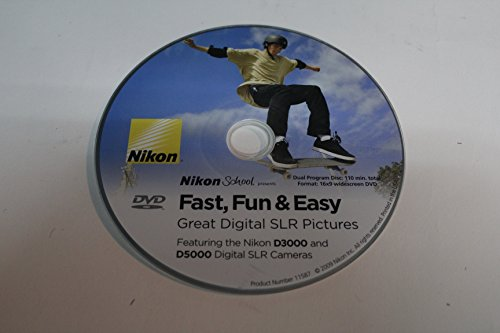 Nikon School presents Fast, Fun & Easy Great Digital SLR Pictures for Nikon D3000/D5000 series DSLR Cameras (DVD) (Nikon D3000 Camera)