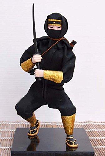Japanese Warrior Doll - Samurai Ninja- 30cm/12