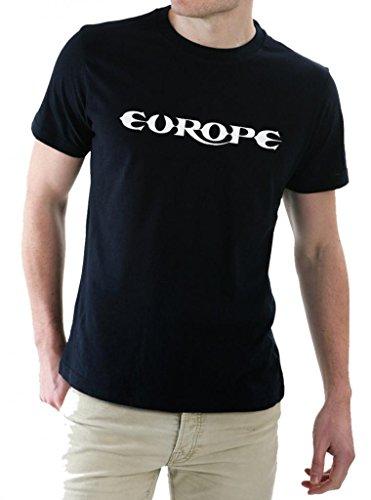 Europe Band Rock Metal Music Logo The Final Countdown Men's T-Shirt