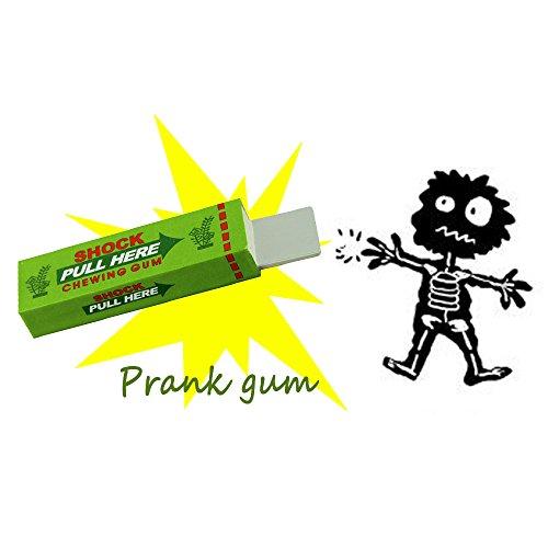 Tricky Electric Shocking Gum Joke Prank April Fool's Day Funny Shock - April Harmless Fools Jokes