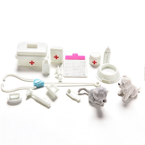AOWA 1 Set Medical Supplies Mini Doll Medical Toys Accessories Girls Birthday Gifts