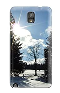 3321370K64633376 New Galaxy Note 3 Case Cover Casing(winter Sun)