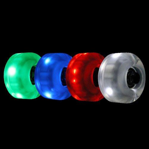 Led Light Up Longboard Wheels in US - 8