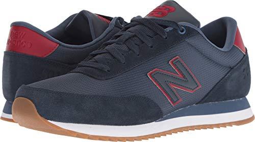 New Balance Men's 501v1 Sneaker, Galaxy/Nubuck Scarlet, 8 D US