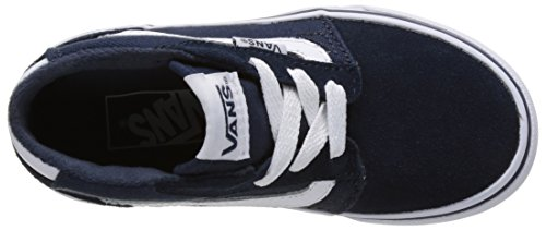 Vans Chapman Mid, Zapatillas Altas Unisex Niños Azul (Dress Blues/whitesuede/canvas)