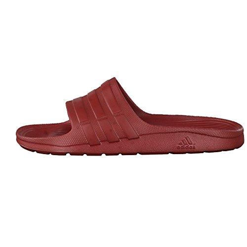 adidas Duramo Slide - Chanclas para Unisex, Rojo - (ROJMIS/ROJMIS/ROJMIS) 48 2/3