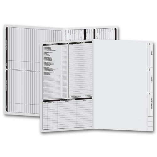 Real Estate Legal Size Folders
