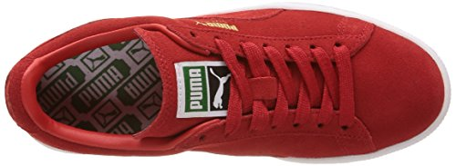 White Sneaker Risk Rosso Puma Red Rouge Suede High Adulto – Classic Unisex PRPSFU7q