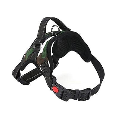 Dog Saddle Type Harness Vest - Oxford Saddle Type Service No-pull Pet Dog Vest Harness