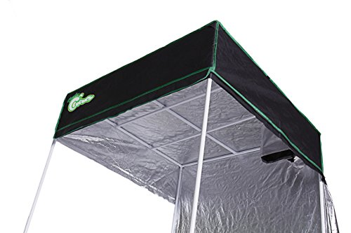 "41DkJ6KHGyL - Hydro Crunch Hydroponic Grow Tent, 48"" x 48"" x 80"""