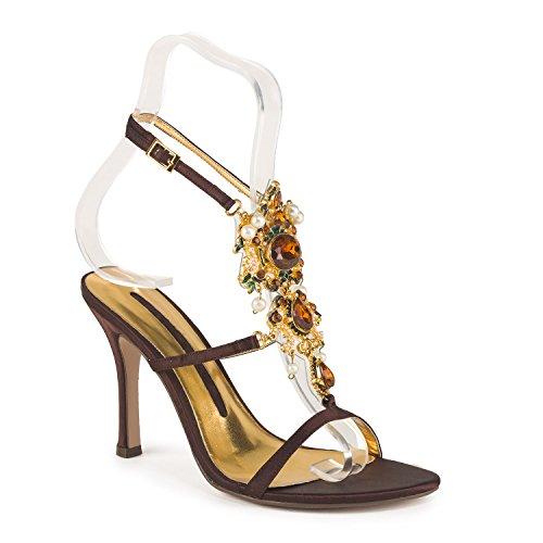 FARFALLA - Zapatos con correa de tobillo mujer Marrón - marrón
