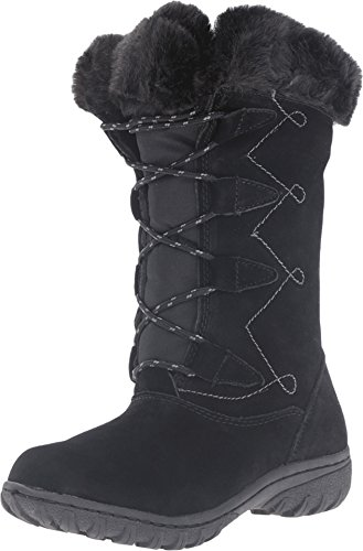 Khombu Women's Meghan Black Boot 9 B (M)