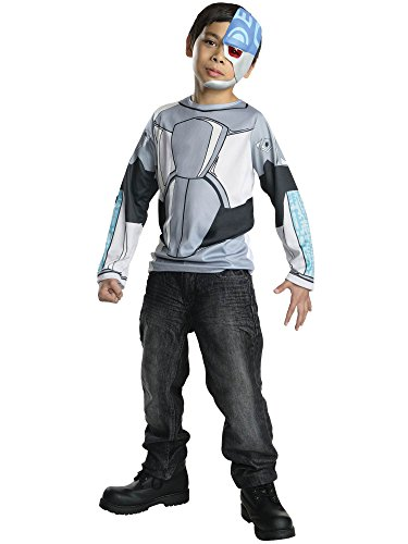 Rubies Teen Titans Go Cyborg Costume, Child -